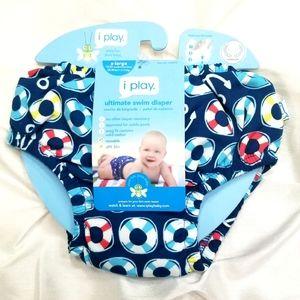 NWT • iPlay • Reusable Swim Diaper